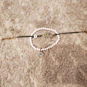 Evil Eye Bracelets - bundle of 2